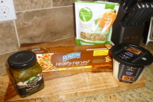 All the ingredients you need to make a quick and healthy meal for the whole family.