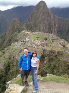 Hiking in Machu Picchu
