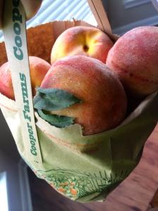 cooper farms peaches