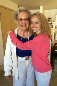 Niki and grandma